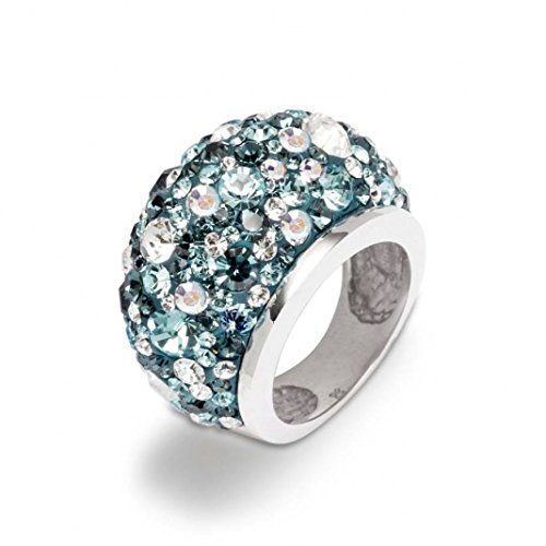 gooix silver ring with crystals 943-05235