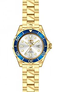 Invicta Grand Diver Automatic Silver Dial Mens Watch 13872
