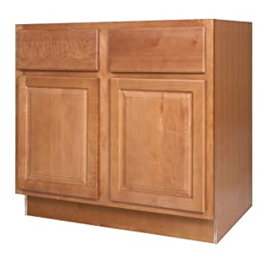 All wood cabinetry sb36 wcn 36 inch wide by 34 1 2 inch for Kitchen cabinets 36 high