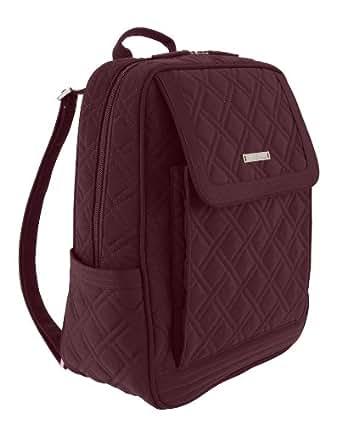 Vera Bradley Metro Backpack in Wine