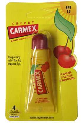 carmex-cherry-moisturising-lip-balm-tube-spf-15-for-dry-chapped-lips-10g