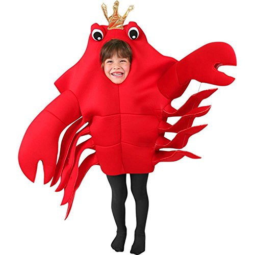 Child's King Crab Costume (Size: Small 4-6)