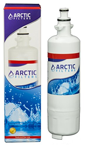 ARCTIC FILTER Refrigerator Water Filter LG LT700P| Great Tasting | Removes Contaminants | Quality Construction for Long Filtration Life | Up to 6 Months | Compatible Kenmore 46-9690 ADQ36006101 etc (Water Ionizer Adapter Faucet compare prices)