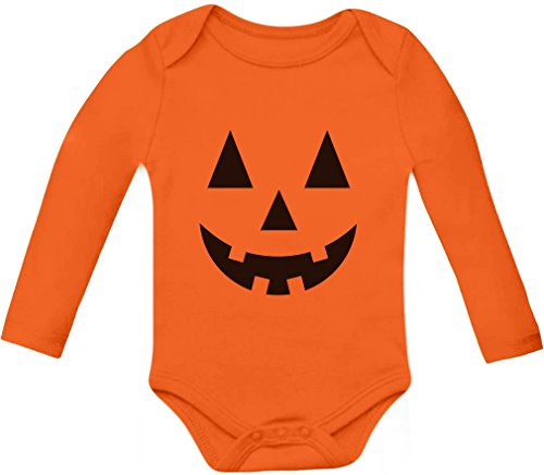 Cute Little Pumpkin - Halloween Jack O' Lantern Onesie