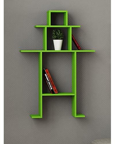 decortie by homemania regal gr n mode fly top mode und. Black Bedroom Furniture Sets. Home Design Ideas