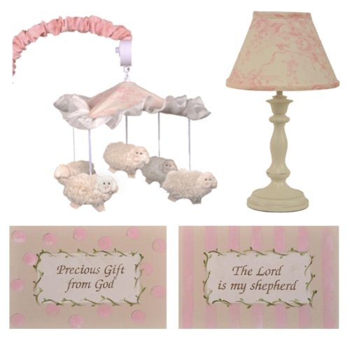 Cotton Tale Designs Heaven Sent Girl Decor Kit - 1