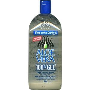 Fruit Of The Earth 100% Aloe Vera 24oz Gel Pump