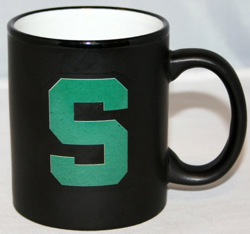 Michigan State Spartans Ncaa 2-Tone Charcoal 11Oz Coffee Mug