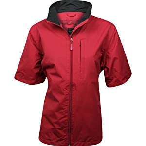 Ladies Weather Company Microfiber Short Sleeved Golf Rainwear by Twac