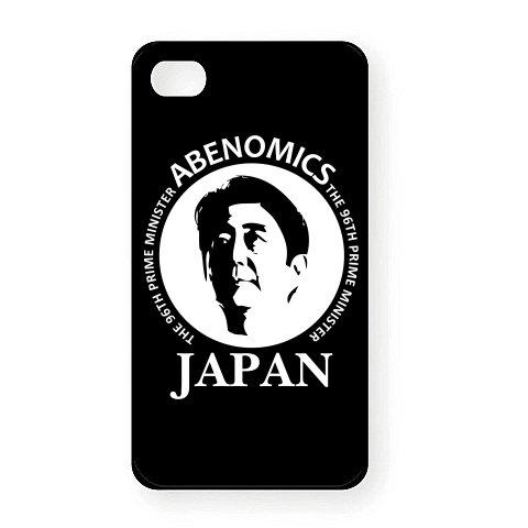 ABENOMICS アベノミクス 2 iPhone4Sオリジナルケース(ブラック)