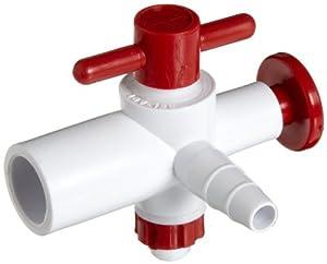 Bel-Art Scienceware 420400000 Polypropylene Replacement Stopcock, For Vacuum Desiccator