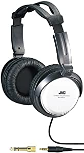 JVC Over-the-Ear Comfortable Stereo Headphones with Extra Long 3.5m Cord, 40mm Driver & Adjustable Cushioned Headband
