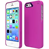 Tech Armor SlimProtect Grip Tough Scratch-Resistant Case / Cover for iPhone 5S / 5 (Berry/Cobalt) Lifetime Warranty