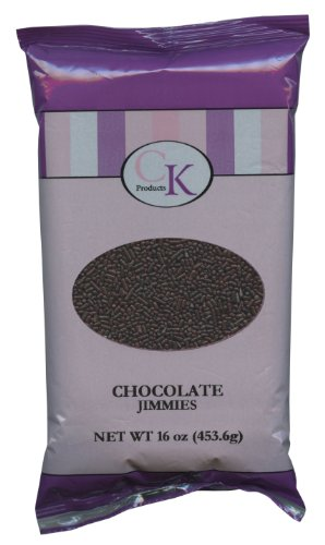 Ck Products Chocolate Jimmies, 16 Oz Bag front-497185