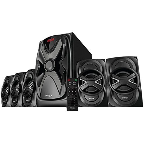 Intex IT - 6050 SUF BT 5.1 channel Multimedia Speaker  available at amazon for Rs.5990