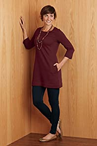 Fair Indigo Fair Trade Organic Sweatshirt Dress