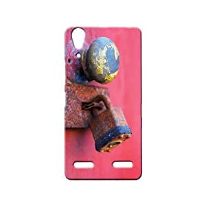 BLUEDIO Designer 3D Printed Back case cover for Lenovo A6000 / A6000 Plus - G7399