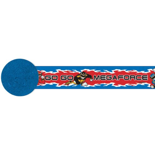 Power Rangers Megaforce Crepe Streamer