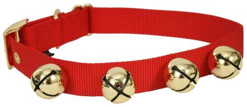 Christmas Dog Collars With Bells