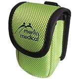 Merlin Pulse Oximeter Case Hospital Quality Hard Case Fits Any Finger Pulse Oximeter