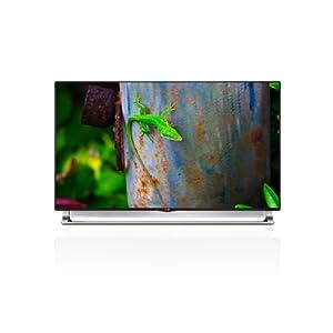 LG Electronics 55LA9700 55-Inch 4K Ultra HD 240Hz 3D Smart Nano LED TV with Sliding Sound Bar
