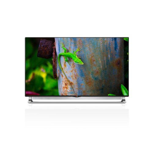 Lg Electronics 55La9700 55-Inch 4K Ultra Hd 240Hz 3D Smart Nano Led Tv With Sliding Sound Bar (2013 Model)