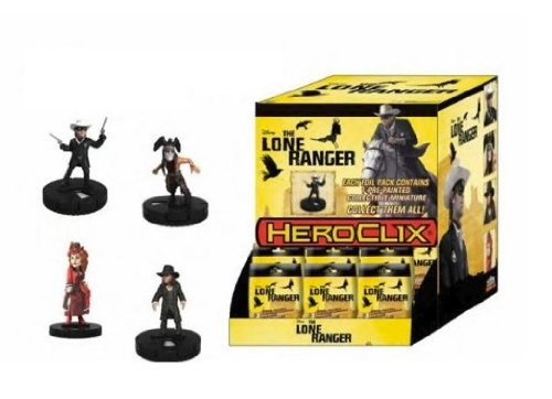 24 x - Hero Clix - Lone Ranger Boosters - 71100