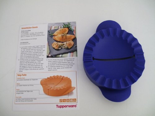 TUPPERWARE D157 Attrape de pâte Pöur Oreillettes de Pâte Farcies avec de la Viande bleu/lilas