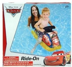 Disney Pixar Cars Inflatable Ride-On - 1
