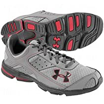 Boys' Armour® Dash Grade School Running Shoes Non-Cleated by Under Armour 5 Steel
