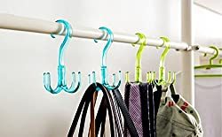 Multipurpose Hanger Organiser - Can be used to hang ties, belts, scarfs, keys Hanger
