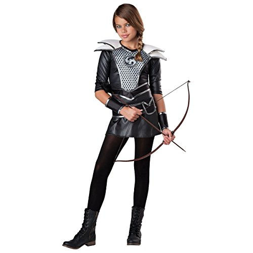 GSG Katniss Everdeen Costume Kids Hunger Games Halloween Fancy Dress (Beauty Queen Fancy Dress)