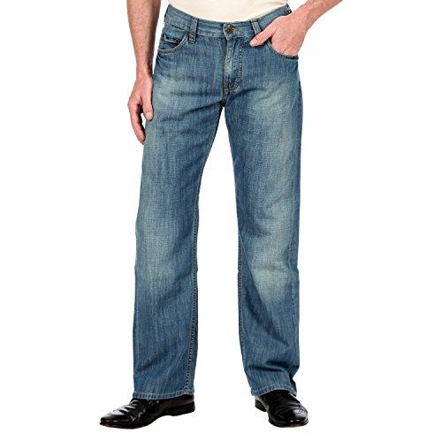 MUSTANG Bootcut Uomini Pantaloni Blu 3173 5427 046, Herren - Bekleidung - Jeans / 11483:W31/L34