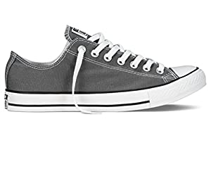 Converse Mens Chuck Taylor All Star Charcoal 7.5 Classic Sneakers 1J794