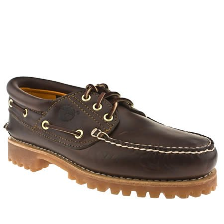 Timberland Rugged Hand-sewn - 9.5 Uk - Brown - Leather