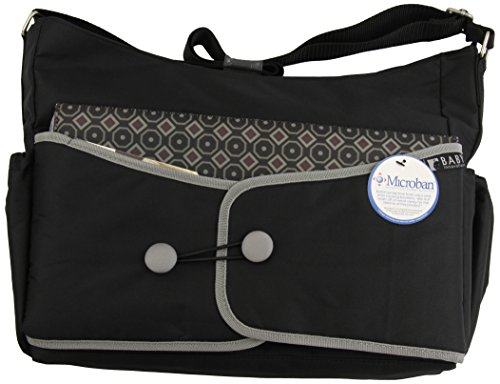 Baby Innovations Fashion Hobo, Black