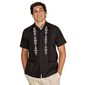 Emboridered Guayabera for men