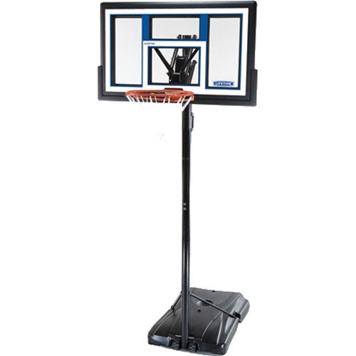 Lifetime 1525 Courtside Portable Basketball System with 50 inch Backboard, Made in the USA