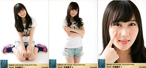 NMB48 LiveHouseTour 2016 FINAL 会場 生写真 3枚コンプ 矢倉 楓子
