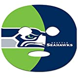 NFL Seattle Seahawks Game Day Face Temporary Tattoo, Large