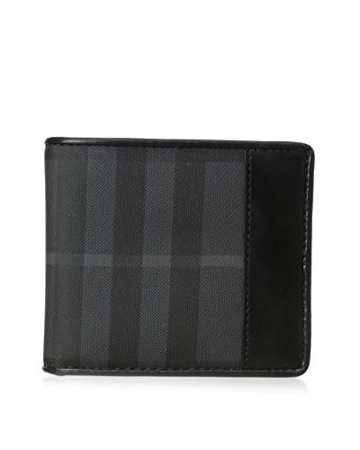 Burberry Men's Bi-Fold Wallet, Black