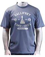 Gallifrey University Timelords Dr Matt Smith Who Movie T-shirt