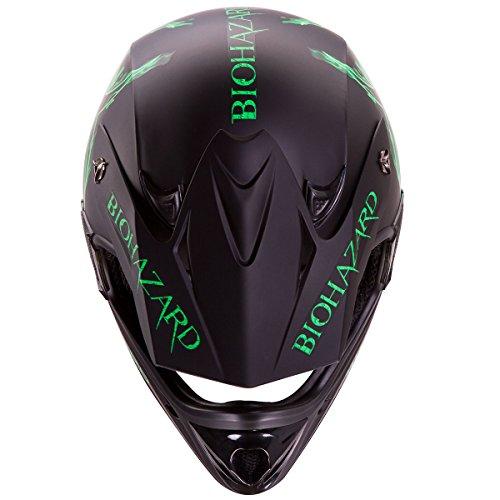 Motorcycle gloves tight or loose - Iv2 Quot Biohazard Quot Matte Black High Performance Motocross Atv Dirt Bike