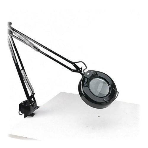 """Wholesale Case Of 2 - Ledu Economy Magnifier Lamps-Magnifier Lamp, 41-1/2"""" H, 22W Fluorescent Tube, Black"""