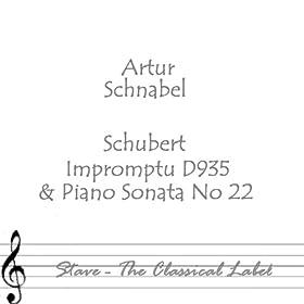 Schubert Impromptu D935 & Piano Sonata No 22