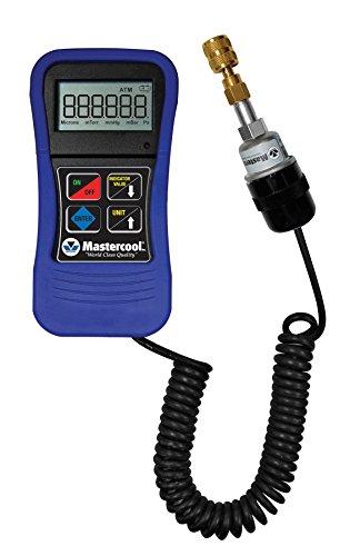 [해외]블로우 성형 케이스 Mastercool (98061) 블루 디지털 진공 게이지/Mastercool (98061) Blue Digital Vacuum Gauge with Blow Molded Case