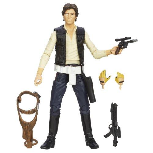 Hasbro - Star Wars Black Series 6 Inch Figura di azione Han Solo