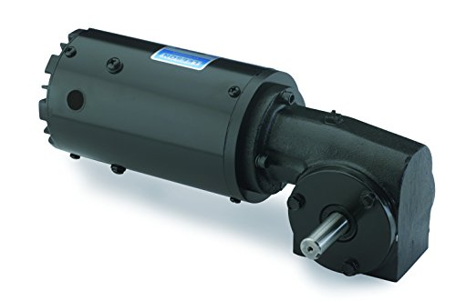 Leeson Right Angle 1/6 Hp, 29 Rpm 115/230V Electric Gear Motor # M1145037