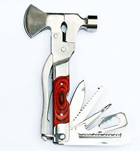Brook & Hunter MT-W-AXE Premium Mo-Tool Axe with Wood Inlay Handle