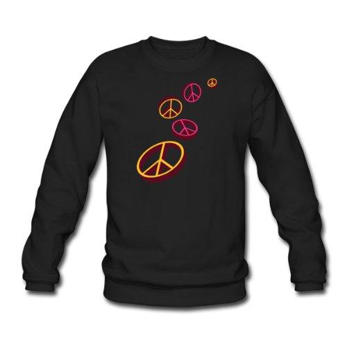 Spreadshirt, 5_peace, Men's Sweatshirt, black, XXL